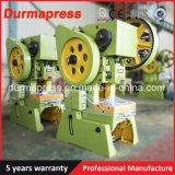 J23 prensa eléctrica punzonadora mecánica de la Serie 250t Prensa de manivela