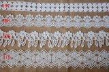 方法ミルクヤーンの装飾のための化学刺繍のレース