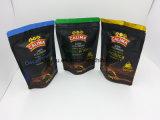 Plastikkaffee-Verpacken- der LebensmittelFastfood- mit Reißverschlussbeutel