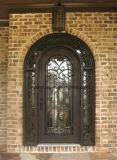 Grade de porta Hand-Crafted parte superior da entrada do ferro feito do arco única