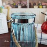 De vrije Vaas van het Glas van de Steekproef met Handvat voor de Decoratie van het Huis
