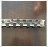 Haltbarer Gebrauch flache Belüftung-Streifen-Vorhang-Rolle
