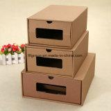 Caja de almacenamiento de cartón tipo cajón con diferentes tamaños personalizados