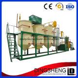 Planta de refinaria de óleo comestível e de cozinha com suporte tecnológico
