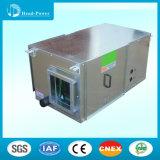 O assoalho/teto comerciais montou o condicionador de ar empacotado de refrigeração água da unidade R407c do condicionador de ar do duto