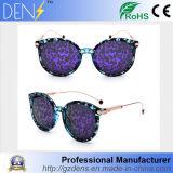 Frauen-Weinlese-Retro runde Rahmen-Spiegel-Objektiv-Sonnenbrillen