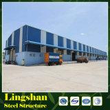 Steel Warehouse Steel Space Frame Structure en acier pour atelier