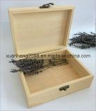 Contenitore di regalo di legno Handmade con i coperchi provvisti di cardini