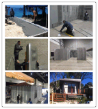 Chambre préfabriquée moderne durable de villa de plage d'envergure de longue vie de Micoronesia