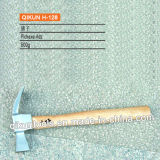 H-125 строительного оборудования ручных инструментов Италия Введите зубчатую молотком с длинной деревянной ручкой