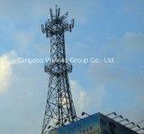 Toren van het Staal van het dak de Hoogste/de Toren van Telecommunicatie/Toren Guyed/de Toren van de Microgolf