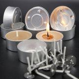 Tealight alumínio suporte para velas para o chá círio luz fazendo