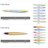 De kleurrijke Mustad Haak Japan maakte tot de Vissen van het Lood het Langzame Kaliber van het Metaal