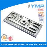 Molino CNC parte de la placa de aluminio