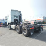 HOWO 6X4 60 de 371HP Hw76/Hw79 toneladas de caminhão do trator