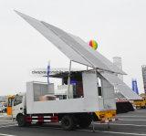 LED 스크린을%s 가진 실행 트럭 30 평방 미터 움직일 수 있는 단계