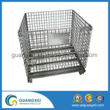 Almacenamiento industrial Apilable apilable Metal Steel Wire Mesh Container