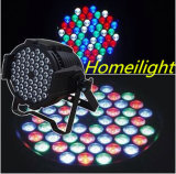 RGBW 3wx54 impermeável PAR Lamp Stage Light com DMX512 alumínio Spot Light Disco Effect LED Party