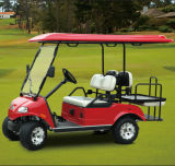 Hdk Golf Club Car Red Utility Vehicle (DEL3022G2Z, 2 + 2-Seater)