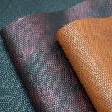 O projeto clássico gravou o couro impresso do plutônio, couro sintético do saco
