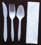 Cristal Spoon Fork Couverts en plastique Set
