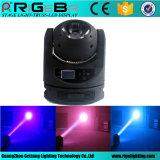 luz do estágio do efeito do feixe de 60W RGBW4in1 luz principal movente do diodo emissor de luz da mini