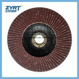 """6 """"Zirconia Oxing Sanding Abrasive Flap Wheel pour le polissage du métal"""