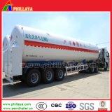 52.6МУП резервуар для хранения сжиженного природного газа с 3 оси полуприцепов транспорт