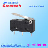 家庭電化製品で使用されるちり止めの小型マイクロスイッチ