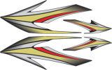 Decalcomania durevole personalizzata di Motorcyle del vinile