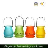 De Kaars van de Citronellaolie van het glas voor OpenluchtTuin