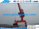 Guindaste portuário marinho hidráulico do aparelho de manutenção