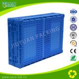 Cassa mobile accatastabile/pieghevole logistica di plastica