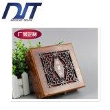Rectángulo de madera de la flor de la joyería profesional de la pintura para la medalla