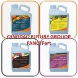 有機性液体の葉状肥料