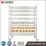 NSF Heavy Duty Réglable 500lbs pain métallique Rack commerciale
