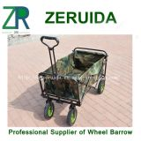 Das Mac Sports Folding Utility Wagon in Green/Folding Cart
