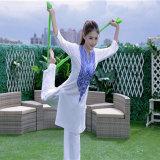 Frauen-Yoga-Abnützung-Platten-Abnützung