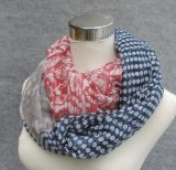 軽量の柔らかい綿の女性の無限スカーフ