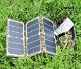 19.5Wは出力される折る太陽エネルギーの充電器二倍になるハングのたが(FSC-19.5A)が付いているバックパックのためのUSBによって