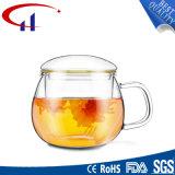 Chávena de chá de vidro artesanais populares com a mão (CHT8618)