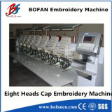8 teste Embroidery Machine per Cap, T-Shirt Embroidery