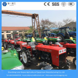 China Fábrica Tractores agrícolas / Mini Diesel Granja / pequeño jardín de tractor 48HP 4WD
