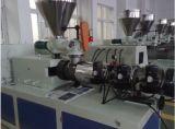 Máquina plástica da extrusora do parafuso gêmeo cónico da eficiência elevada