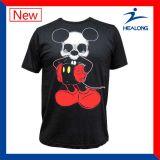 A forma da listra do Mens do Sublimation ostenta camisas de T