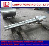 平ら合金鋼鉄シャフトの鍛造材として使用される造るForgedshaftを停止しなさい