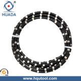 Block Squaring를 위한 다이아몬드 Wire
