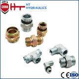 Adapter-hydraulischer Schlauch-Befestigungs-Rohr-Verbindungsschlauch-Adapter des Edelstahl-1t9-Sp