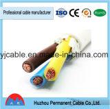 Cable flexible vestido de goma del caucho del deber de /Heavey del cable de H07rn-F