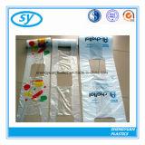 슈퍼마켓에 의하여 이용되는 인쇄된 플라스틱 쇼핑 백